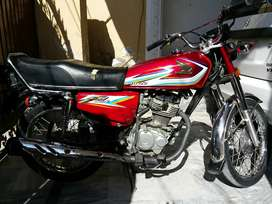 Honda CG 125-2016 model\ 2017 Registered