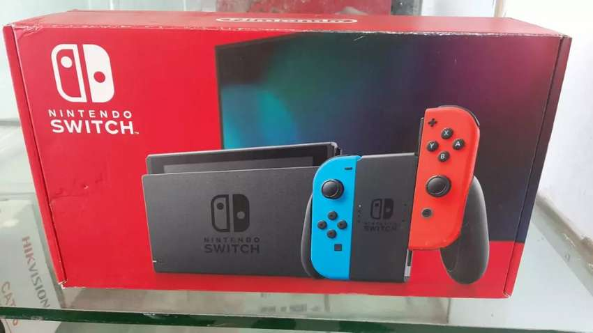 Nintendo switch new model 9 hours battery time 0