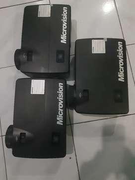 Microvision 3500 ansilumens vga