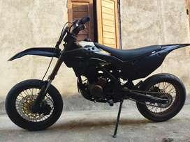 Klx 2011 modif supermoto