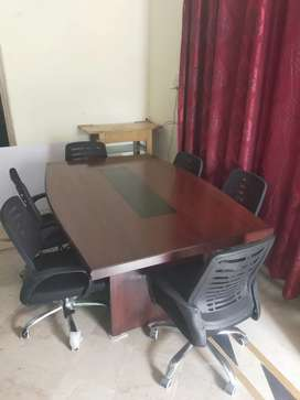 Conference table With Imported Chair's