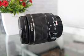 Lensa Canon 18-55 is II Normal Muluus