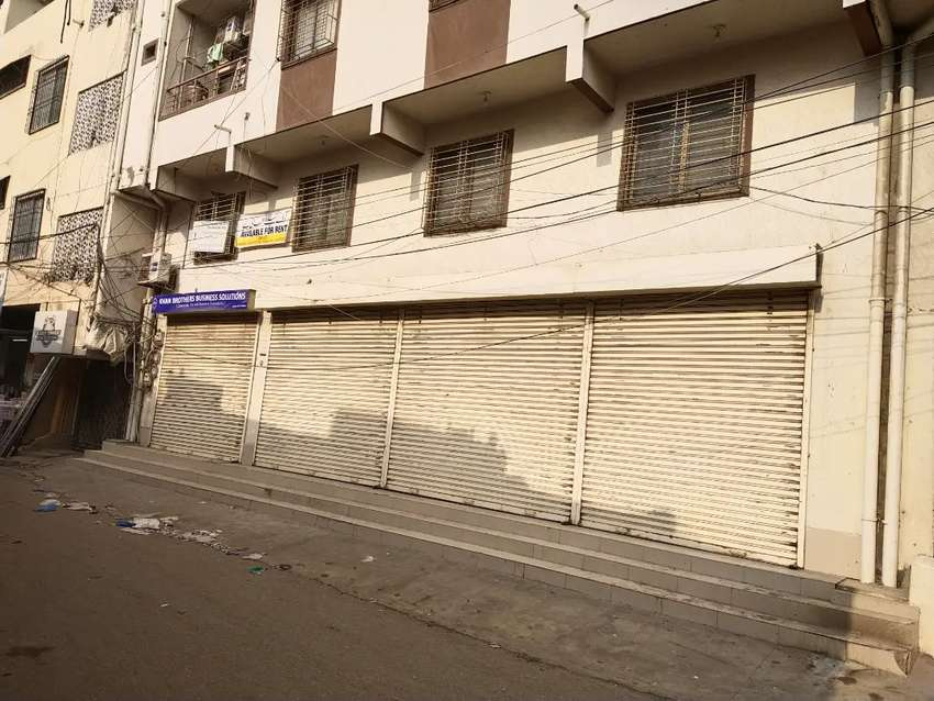 Ground + Mezanine Shop Available For Rent 0