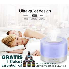 Humidifier 500ML Remote + GRATIS EO 1 PAKET