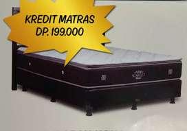 Bisa NEGO Matras CENTRAL 120x200 Scarlet Singgle Pillow Top 32 cm
