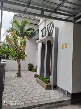 Disewakan rumah full furnished dalam perumahan di jalan kaliurang km 6