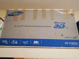 Samsung bluray 3d hometheater system 5.1 HT-F4550