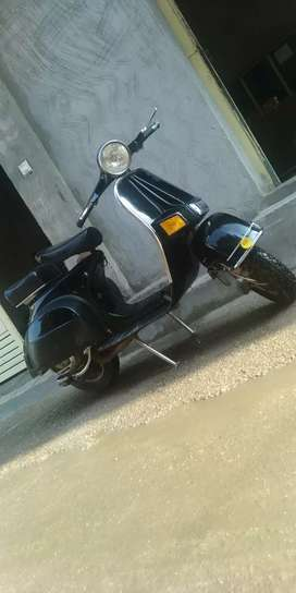Bajaj scooter .