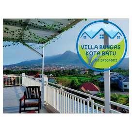 Di sewakan villa keluarga view istimewa 360 dekat alun2 kota batu