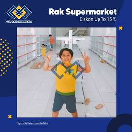 BIG PROMO - Rak Gudang Rak Gondola Toko Rak Minimarket Meja Kasir
