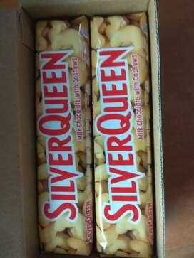 Silverqueen 62 gr varian cashew exp 2022