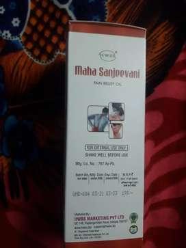 Maha sanjeevani pain relief oil back pain arthritis muscle pain