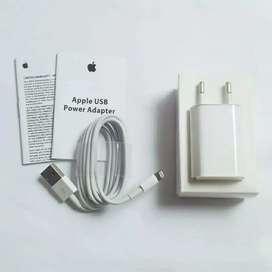 Charger Original iPhone 5/5s/5c 6/6s/6+/6s+ 7/7+ Garansi 1 Bulan