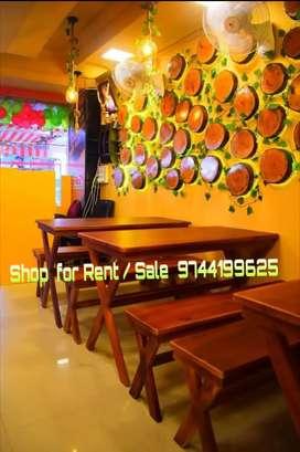 HOTEL FOR SALE 10L(5L EQUIPMENTS+5L ADVANCE) RENT 40000 MGROAD  KOCHI