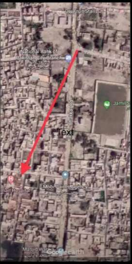Corner Commercial plot for sale in middle of city