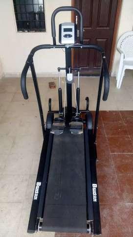 Benson running treadmill