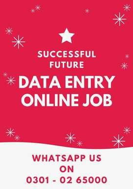 Earn at home on daily base by online data typing job