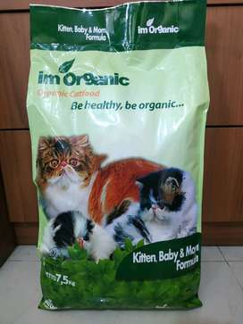 Makanan Kucing IM Organic Kitten Baby and Mom Repack 1kg