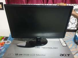 Acer Monitor 23 inch