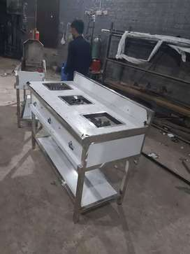 Stove burner , BBQ pit , shawarma ,pizza oven fryer commercial kutchen