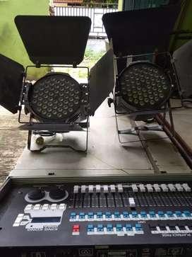 Jual murah mixer kingkong dan fresnel LED