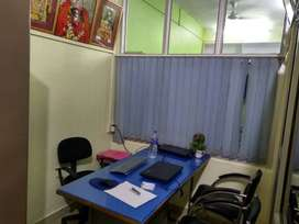 Well furnished AC office with wifi networking,