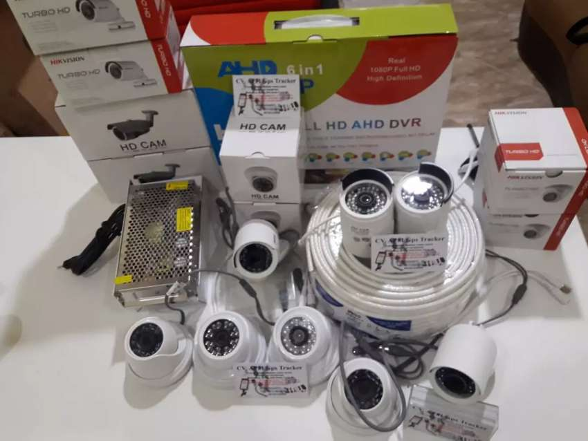 Cctv AHD 4ch kamera lensa 3mp hardis 500gb jati sampurna 0