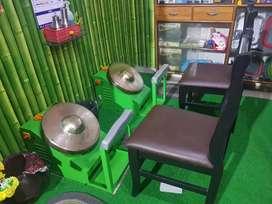 कांस्याथाळी मसाज सेटउप विकणे आहे
