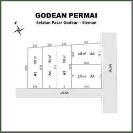 Selatan Pasar Godean, Siap Bangun Lahan Matang: Cuan 30%