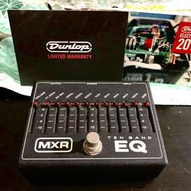 Dunlop MXR M108 10-Band Graphic EQ Guitar Effects Pedal