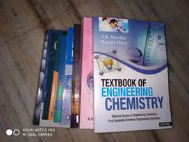 1st year Polytechnic/diploma engineering book set