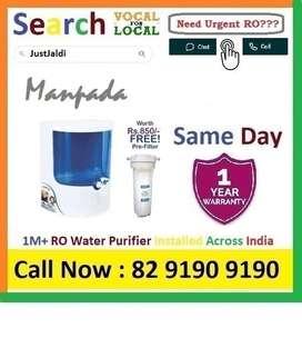 Manpada1 RO Water Purifier Water Filter UV AC dth 9L bed L - car   Cli