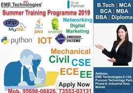 Software Industrial Training in Chandigarh