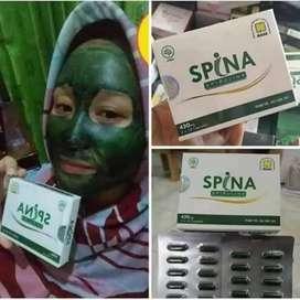 Masker SPINA - Spirulina Nasa