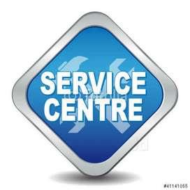 Call receptionist for service centre