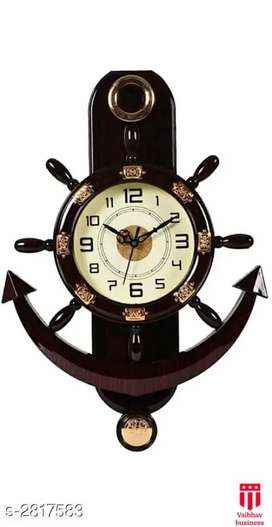 (NEW) Stylish elite wall clock , free delivery cod available
