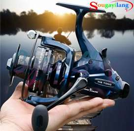 Spinning Fishing Reel Sougayilang MG7000 13+1BB High Quality Reel