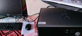 Dell computer 180hard disk/4Ram