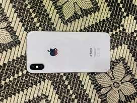 I phone x 64gb silver colour
