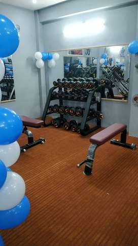 LUXURY GYM SETUP IN BUDGET WITH EXCHANGE OFFER AFTER 2 YEARS