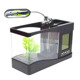Aquarium mini with running water