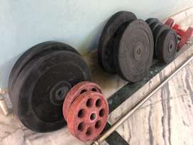 Weights , all round bench 3 months old