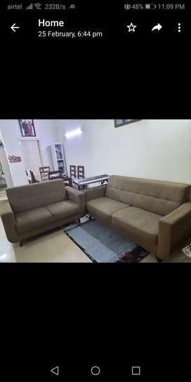 5 seater sofa with excellent condition.