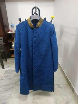 Indo western wedding suit
