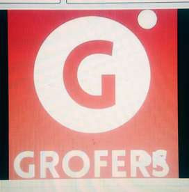 Delivery boy for Grofers india PVt