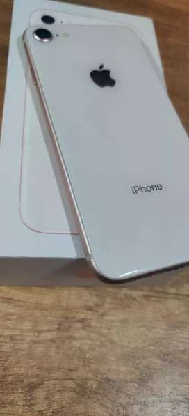iPhone 8 64GB - Gold Colour With Indian Bill