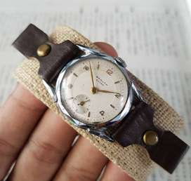 JAM TANGAN VINTAGE WEALTH EXTRA DRIVERS WATCH SUB SECOND SWISS MADE