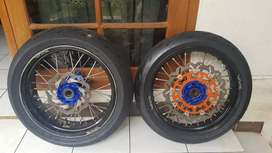 Wheelset supermoto KTM
