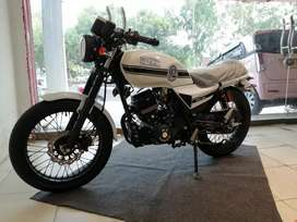New fresh stock hi Speed Infinity cafe racer 150cc available