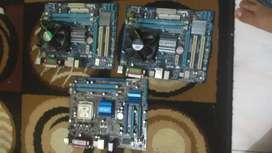 Motherboard g41 gigabyte dan asus